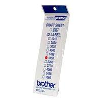 Štítky pro razítka Brother, ID1850, 18x50mm, 12ks, s průhlednou krytkou