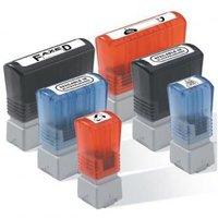 Razítko Brother, PR4090R6P, červené, 40x90mm, min. odběr je 6 ks