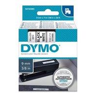 Páska DYMO D1  9mmx7mčerný tisk/bílý podklad S0720680