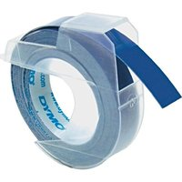 Páska DYMO D1 9mmx 3m bílý tisk/modrý podklad S0898140