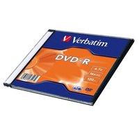 DVD-R Verbatim  43547, DataLife PLUS, 20-pack, 4.7GB, 16x, 12cm,