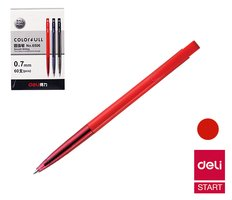 Propiska jednorázová  DELI červená 6506