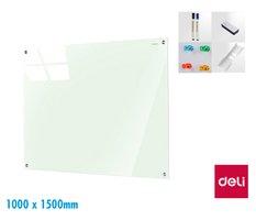 Tabule skleněná magnetická 1000 x 1500mm DELI 8740