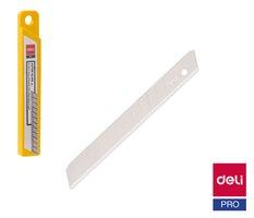 Břity do odlamovacího nože 9mm 10ks DELI E2012