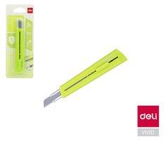 Nůž 126mm odlamovací DELI E2038 zelený