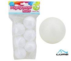 Polystyren - Koule  50mm LUMA