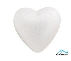 Polystyren - Srdce  85mm LUMA