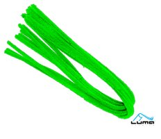 Drátek žinylka 500 x 8mm 10ks - světle zelený LUMA