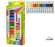 Barvy temperové LUMA 12 barev