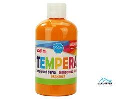 Barvy temperové LUMA 250ml oranžová