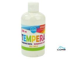 Barvy temperové LUMA 250ml bílá