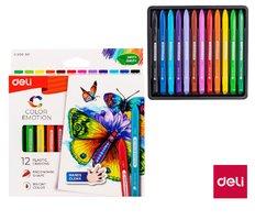Pastely plasticolor DELI 12 barev Color Emotion EC20000