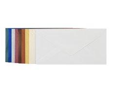 Obálka dopisní  barevná DL metal, 220 x 110 mm