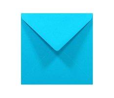 Obálka dopisní  barevná K4, 140 x 140mm, nebesky modrá