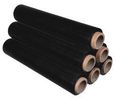 Folie fixační černá, 50cm x 150m, 23 mic