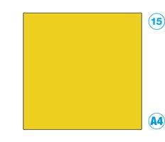 Papír A4 barevný žlutý tmavě