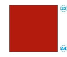 Papír A4 barevný červený