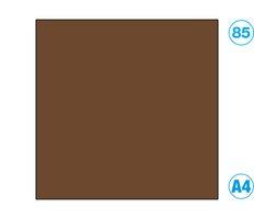 Papír A4 barevný hnědý tmavě