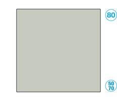 Papír barevný 50 x 70cm šedý