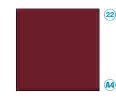 Papír A4 barevný červený tmavě