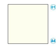 Papír A4 barevný bílý perlově