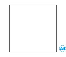 Papír A4 barevný bílá