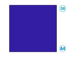 Papír A4 barevný modrá ultramarin