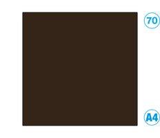Papír A4 barevný černohnědá