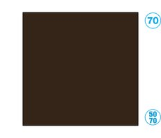 Papír barevný 50 x 70cm černohnědá
