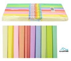 Papír krepový  mix pastel