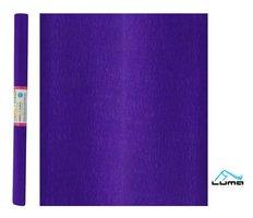 Papír krepový fialový tmavě LUMA