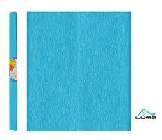 Papír krepový modrý LUMA