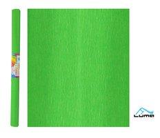 Papír krepový zelený LUMA