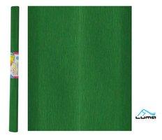 Papír krepový zelený tmavě LUMA