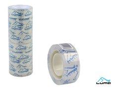 Lepící páska transparentní 18mm x 20m LUMA