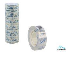 Lepící páska transparentní 18mm x 30m LUMA
