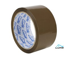 Lepící páska hnědá 48mm x 66m LUMA