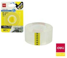 Lepící páska oboustranná montážní transparentní 25,4mm x 1,5m STICK UP DELI EA35201