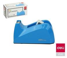 Odvíječ lepící pásky stolní DELI do 18mm E814A modrý