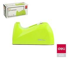 Odvíječ lepící pásky stolní DELI do 24mm E815A zelený