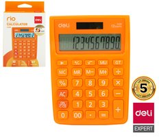 Kalkulačka DELI E1238 oranžová