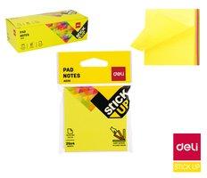 Bloček samolepící STICK UP neon 76 x  76mm 4x 25l Easy acces DELI EA02002