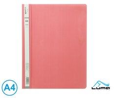 Rychlovazač A4 PP LUMA, růžový