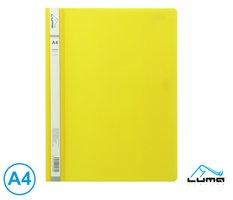 Rychlovazač A4 PP LUMA, žlutý