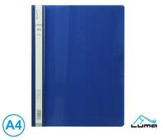 Rychlovazač A4 PP LUMA, modrý tmavě