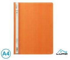 Rychlovazač A4 PP LUMA, oranžový