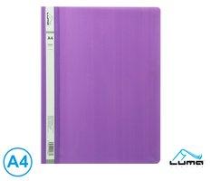 Rychlovazač A4 PP LUMA, fialový
