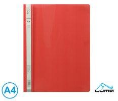 Rychlovazač A4 PP LUMA, červený