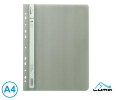 Rychlovazač A4 PP euro LUMA, šedý