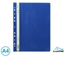 Rychlovazač A4 PP euro LUMA, modrý tmavě